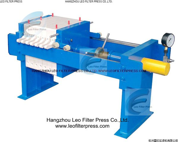 Manual Filter Press Working and Operation Instruction|Working Principle of the Plate and Frame Filter Press