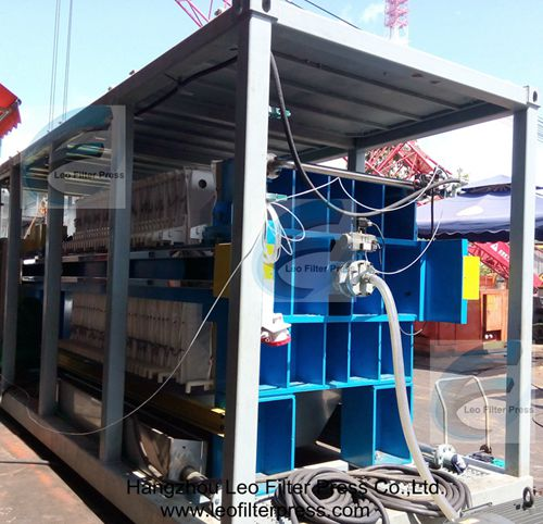 Building Slurry Filter Press for Building Site Slurry Treatment System from Leo Filter Press,Filter Press Manufacturer from China