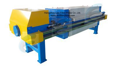 Recessed Chamber Filter Press(Recessed Plate Filter Press )from Leo Filter Press,the Filter Press Manufacturer from China